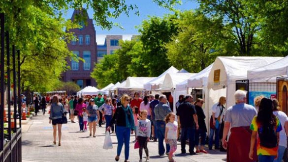 Arts in the Square - Frisco - North Texas Shopping