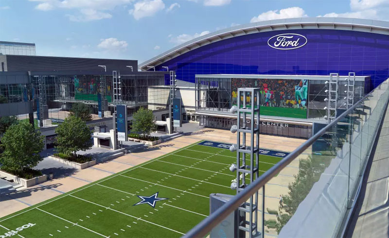 Frisco Shopping Trip - Ford Center at The Star