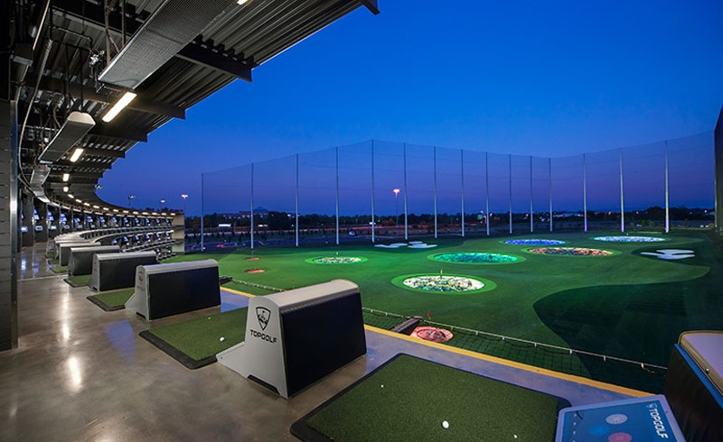 Allen Shopping Trip - Top Golf