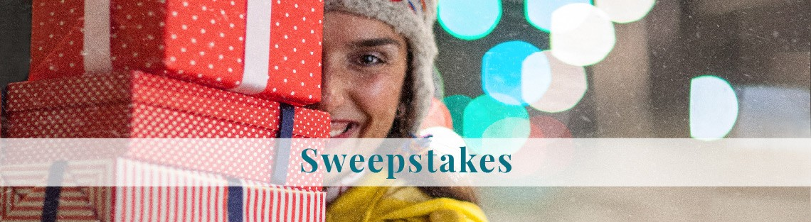 shopping sweepstakes