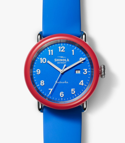 shinola voted watch - plano gift guide 2020